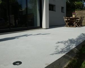 Terrasse en béton – Mérignac 33700